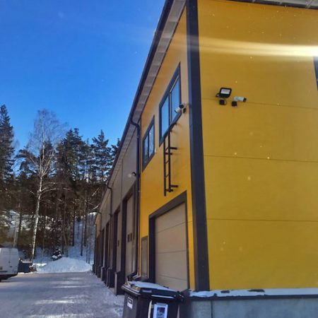 Kivikonlaita toimitilojen rakentaminen