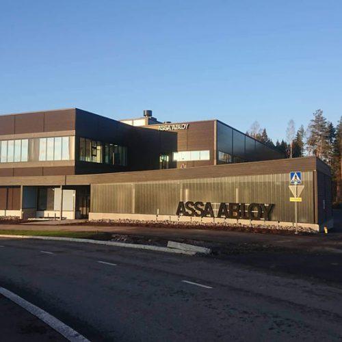 Assa Abloy toimitilat Vantaa