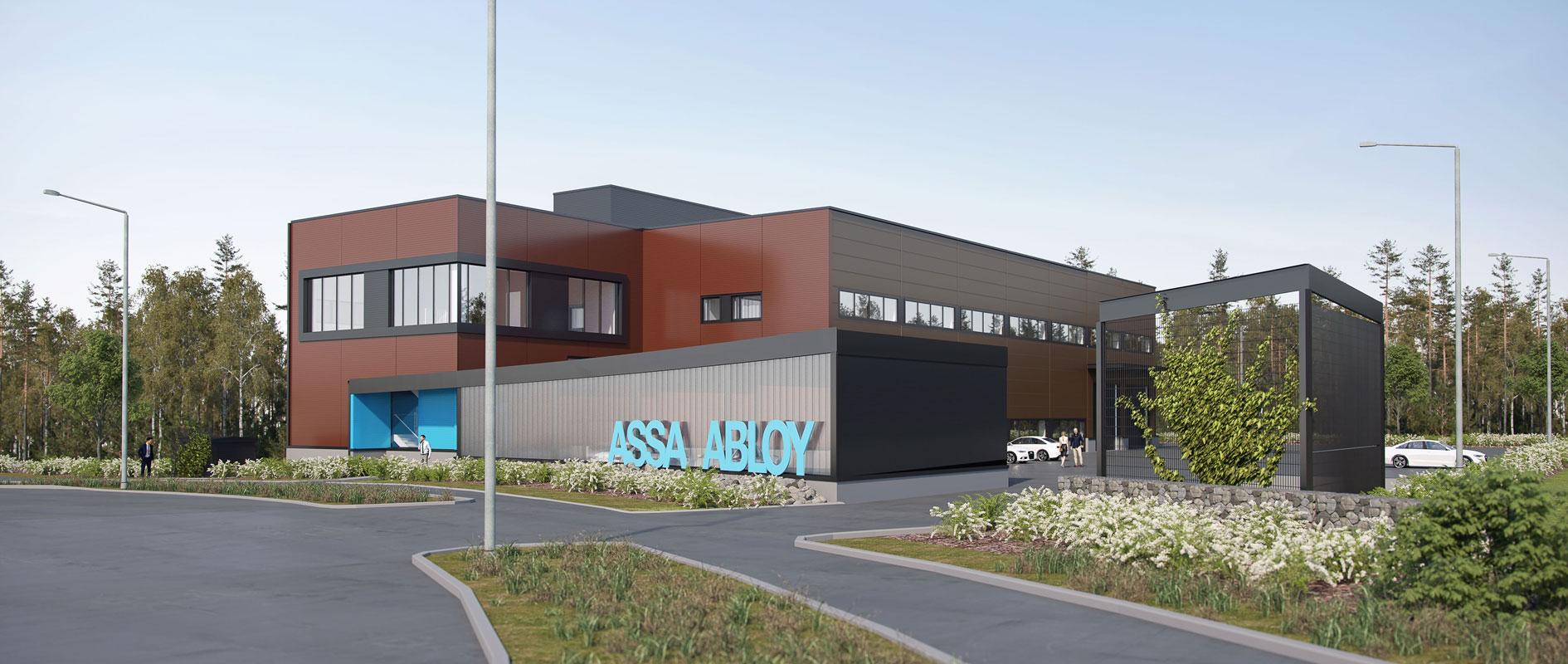 Assa Abloy toimitilat Härkähaantie 9 Vantaa
