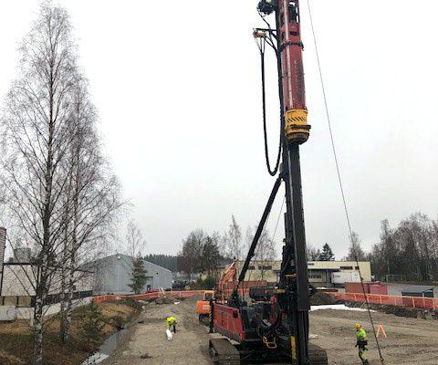 Juvantie 4 Espoo teollisuushalli
