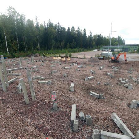 Kivikonlaita 45 toimitilojen rakentaminen