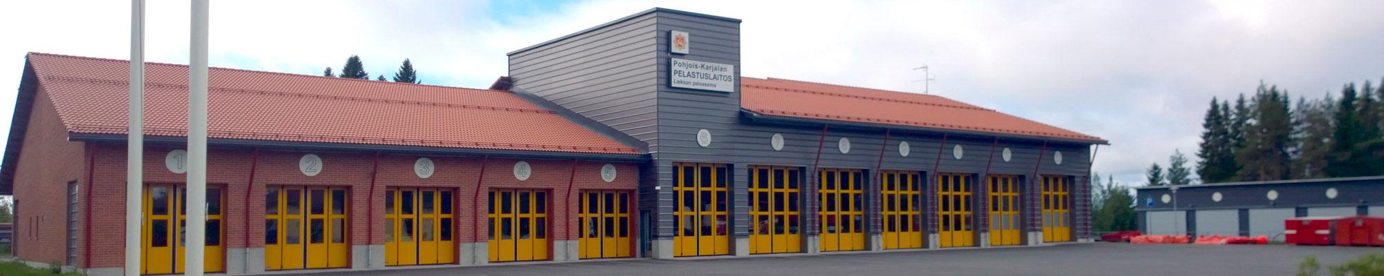 Pohjois-Karjalan Pelastuslaitos Lieksan paloasema